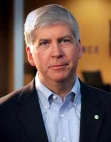 photo Governor Snyder 4326 federal regulations