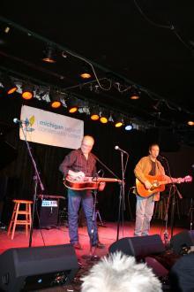 Dave Keeney & Chris Buhalis at The Ark