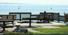 photo lake erie metropark